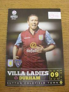 09-08-2015-Aston-Villa-Ladies-v-Durham-Ladies-At-Sutton-Coldfield-Town-Footy