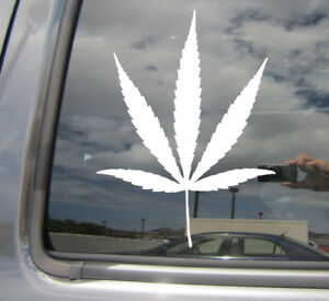 Details about Marijuana Cannabis Leaf Hemp Medical Car Bumper Window Vinyl  Decal Sticker 10229