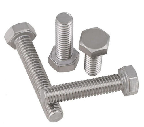 3//8-16 UNC BSW 304 Stainless steel Hex Cap Head Bolts screws