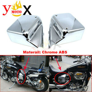Side hatch battery cover Chrome Stainless steel Honda SS50 SS70 SS90
