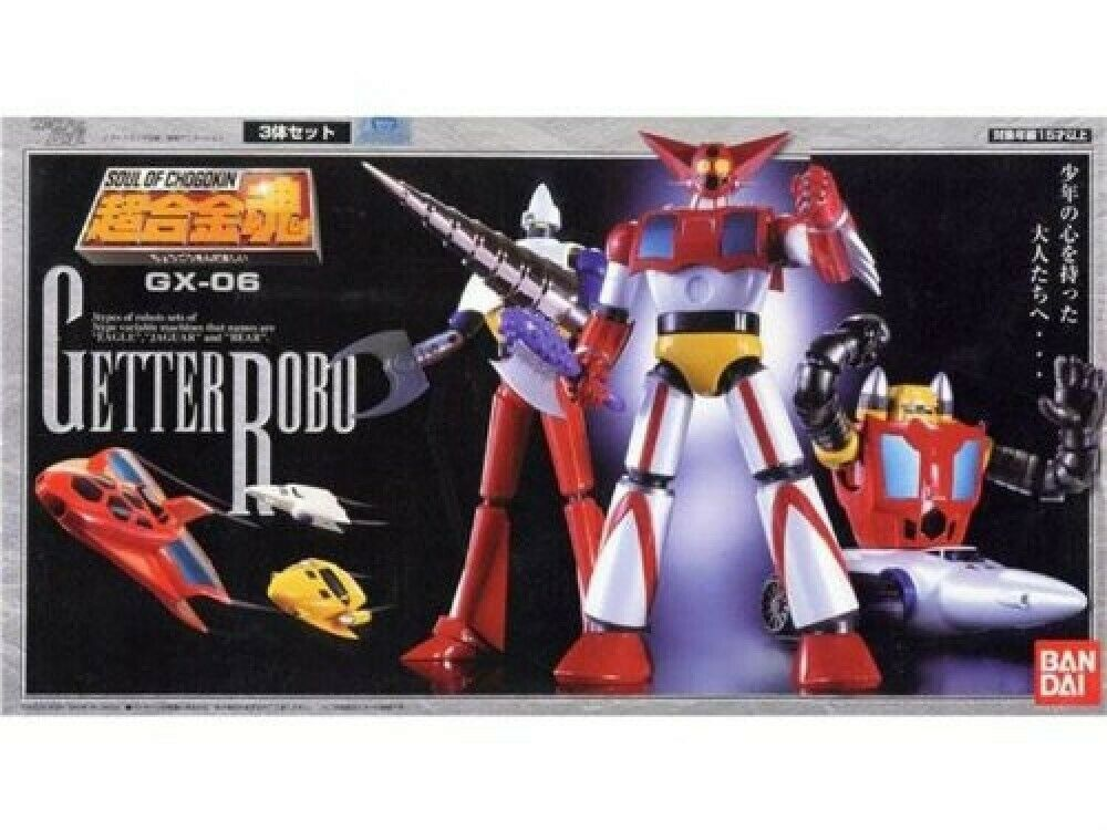New Soul Of Chogokin GX-06 Getter Robot Action Figure F S from Japan