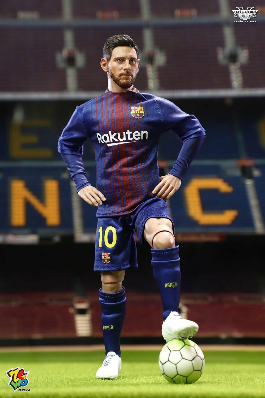 precio al por mayor ZCWO FC Barcelona 1 6 fútbol estrella Lionel Lionel Lionel Messi pantalla de acción figura modelo  calidad de primera clase