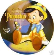 DISNEY DVD Pinocchio - ed.speciale olo tondo e celophan