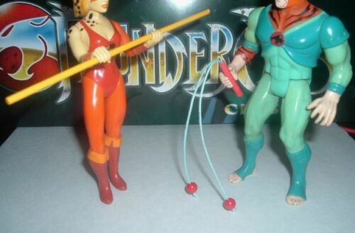 TYGRA Red Variation Hand Made Toy Whip /& CHEETARA Bo Staff Weapons ThunderCats