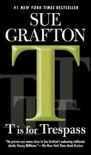 Kinsey Millhone Alphabet: T Is for Trespass 20 by Sue Grafton (2008, Paperback)