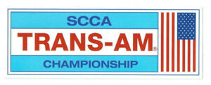 SCCA-TRANS-AMERICAN-CHAMPIONSHIP-LIGHT-BLUE-Racing-Decal-Sticker-die-cut