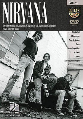 Nirvana Guitar Play Along 8 Songs! DVD NEW!