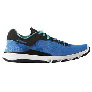 Details about Adidas Mens Adipure 360.3 Clima Chill Training Gym Blue Lace Up Running Trainers