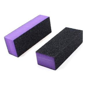 12pc-Black-Grit-Purple-Sanding-3-Way-60-60-100-Nail-Buffer-Blocks-NEW