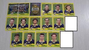 1996-97 Squadra VERONA Calciatori Panini SCEGLI *** figurina con velina ***