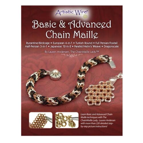 Artistic Wire® Basic /& Advanced Chain Maille Broschüre von Lauren Andersen