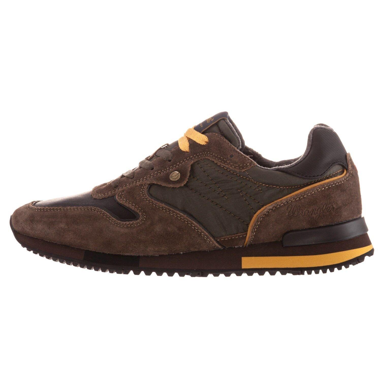 WRANGLER FOREST ginnastica WM172180 scarpe scarpe da ginnastica FOREST uomo pelle camoscio tessuto casual 20f667