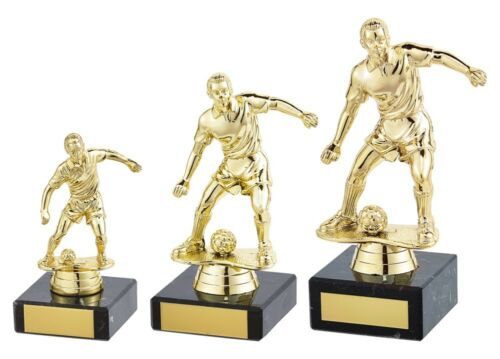 Football trophées Dominion or Football Figure Trophy 3 Tailles Gravure Gratuite
