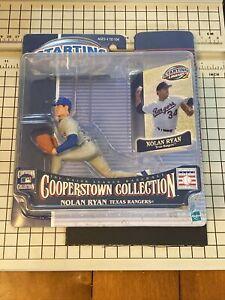 NOLAN RYAN~RANGERS~2001 STARTING LINEUP MLB COOPERSTOWN COLLECTION