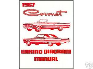 1967 67 dodge coronet wiring diagram manual ebay rh ebay com