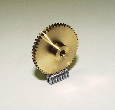 Snail Wheel, Snail Gear, Snail , Modul 0,5, Brass/Steel
