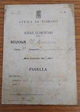 FB441_PAGELLA_CITTA' DI TORINO_SCUOLE ELEMENTARI_1915_REGNO_CLASSE 5a