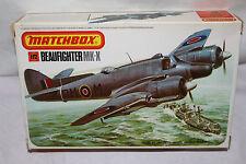 Matchbox Beaufighter MK.X Fighter Modelo Kit. escala 1/72 - PK-103