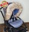 Fur-Pram-Hood-Trim-Stroller-ALL-MODEL-Carry-Cot-Car-Seat-Bug-Seat-Furs-Winter-UK thumbnail 20