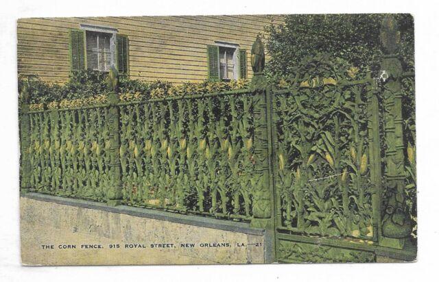 NEW ORLEANS, LOUISIANA The Corn Fence, 915 Royal Street