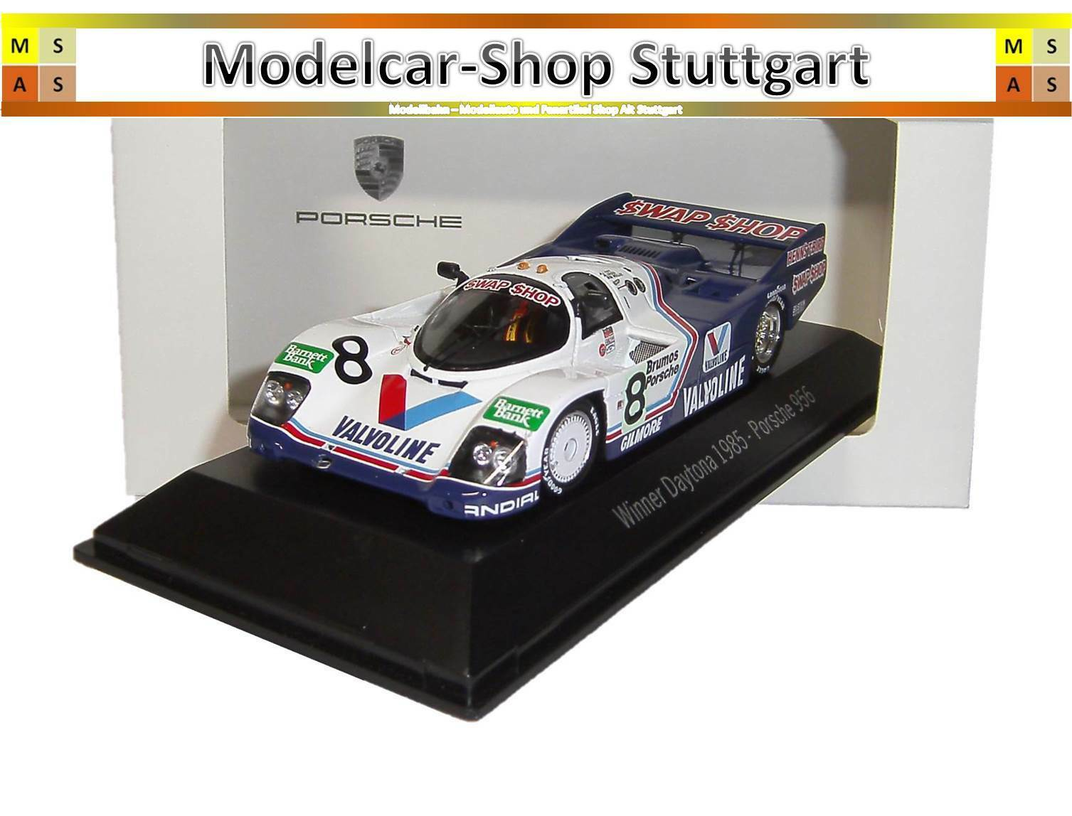 Porsche 956  8 - winner Daytona 1985-spark 1 43 - map02028514-NEUF