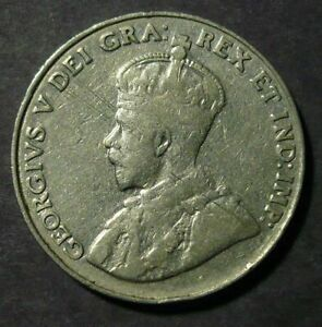 1934-Canada-5-Cents