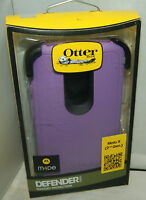 Otterbox Defender Case & Holster For Motorola Moto X 2nd Generation Purple