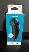 Nintedo Nunchuk Controller Wii Black Color