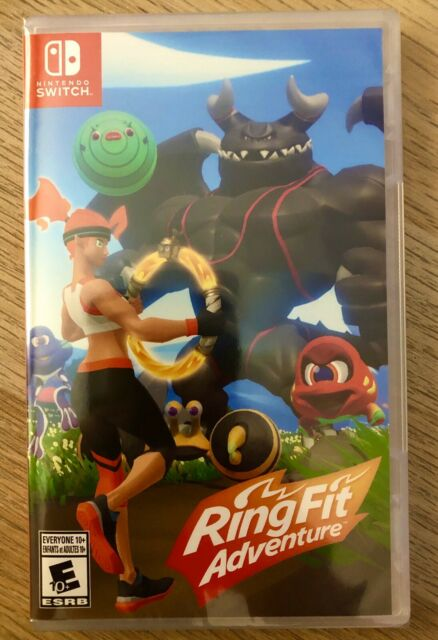Nintendo Switch Ring Fit Adventure ( RingFit Game ONLY) - NIB - Sealed