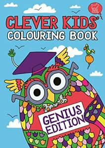 The-Clever-Kids-Colouring-Book-Genius-Edition-Dickason-Chris-Used-Good-Book