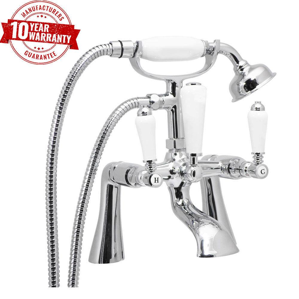 LEVA tradizionale maniglia cromata rubinetto miscelatore doccia bagno ponte montato gambe dritte