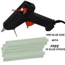 ELECTRIC HOT MELT MINI GLUE GUN  STICKS-COMPACT GLUE GUN FINE TIP