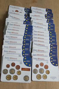 KMS Sammlung 2002-2007 Bundesrepublik Deutschland st komplett  A-D-F-G-J (K1244)