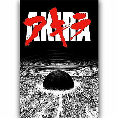 61213 New Akira Neo Tokyo Is About To Explode Decor Wall Print Poster Ebay