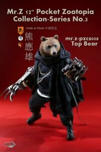 MR-Z-Pocket-Zootopia-Collection-Series-NO-3-TOP-BEAR-1-6-Scale-Action-Figure