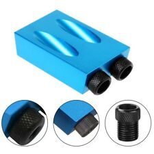 810mm15 Degree Angle Adapter Pocket Hole Jig Kit Drive Adapter For Woodworking