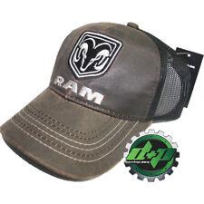5cc29274be5 dodge Suede summer mesh snap back baseball cap trucker hat ball mopar Ram  gear