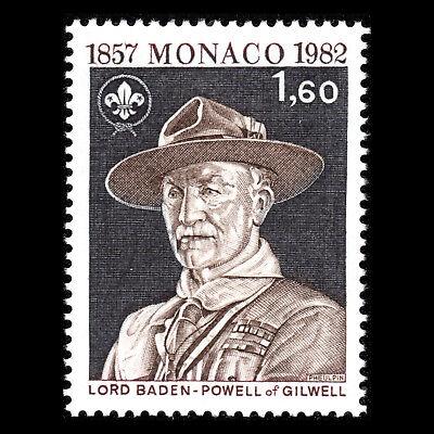 Professioneller Verkauf Monaco 1982 Sc 1341 AusgewäHltes Material Jubiläum Der Birth Of Lord Baden-powell