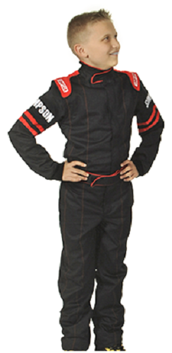 Simpson Race Suit Legend 2 Youth Child Suit Kids (sfi-1) Sfi Uk Fire Karting Med