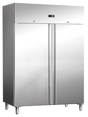 Gefrierschrank Tiefkühlschrank TK Schrank Edelstahl 900 L 2 Türen NEU Gastlando