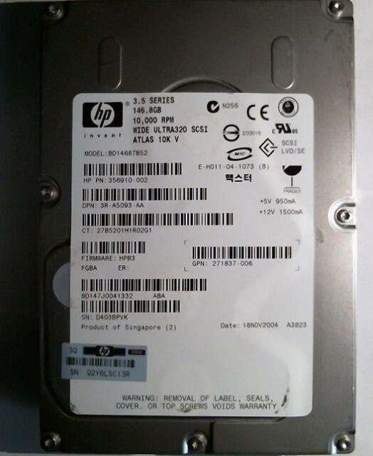 147 GB MAXTOR 10K  8D147J0 SCSI 80PIN 10000rpm NEU