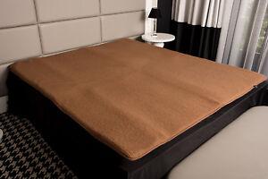 Merino-Schafschurwolle-Matratzenauflage-Topper-Unterbett-Bettauflage-Schaumstoff