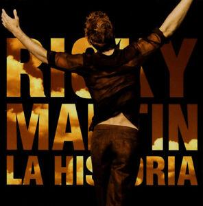 Ricky Martin  La Historia CD ONLY Columbia 2001 - Stourbridge, United Kingdom - Ricky Martin  La Historia CD ONLY Columbia 2001 - Stourbridge, United Kingdom