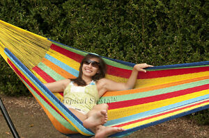 NEW COTTON Mayan Hammock From Yucatan Authentic FAMILY!