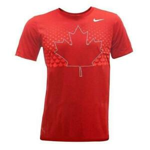 Team Canada Nike Dry-Blend SS Noise Crew (New) Calgary Alberta Preview