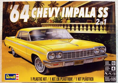 1964 Chevrolet Impala SS 2´n1 1:25 Revell 4487