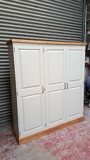 large farrow and ball painted kitchen larder unit cupboard/made to measure
