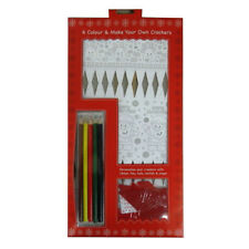 Hobbycraft make your own santa and reindeer christmas crackers craft item 8 make and colour your own christmas crackers pack of 6 with tags silk ribbon make and colour your own christmas crackers pack of 6 with tags solutioingenieria Choice Image