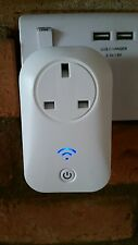 WiFi Wireless Mobile APP Remote Control Smart Socket Timer UK Power Plug Switch