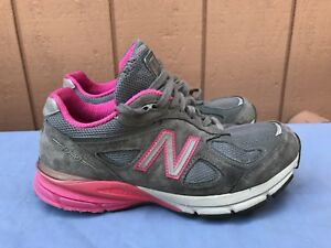 info for fb1e1 4a839 Details about New Balance 990 W990GP4 Gray/Pink Women's Size US 6.5D  Running Sneakers Shoes A5